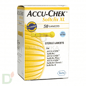 Ланцеты Акку-Чек Софткликс (Accu-Chek Softclix) XL № 50